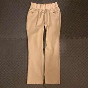 """Old Navy Maternity """"low rise"""" khakis"""